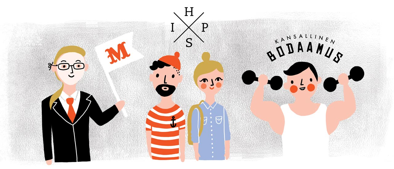 illustrations_for_lapin_ylioppilaslehti